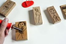 Kids: Kid Keepsake Ideas / Making stuff with kid art is awesome.