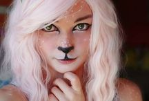 Face paint and anima