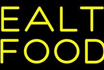 Health Food Neon Signs