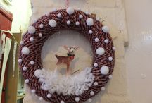 Xmas wreath ideas