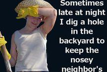 NOSEY NEIGHBOR's