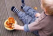 Kinder Ernährung und Snack