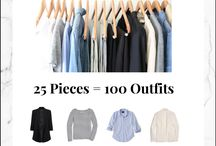 25 pieces = 100 outfits
