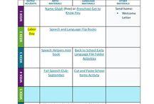 Lesson plans / Resources for school SLP lesson plans