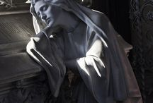 Angeli e sculture
