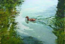 Pastel Paintings - Animals / Animals pastel paintings created on UART paper