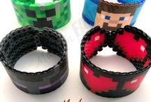 minecraft perl bead bracelets / by kimmy Cain