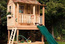 Playhouses-playrooms