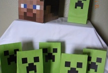 Birthday Party Ideas Minecraft / by Norah Baron