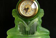 Art nouveauté clocks