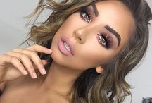 Glam makeup looks