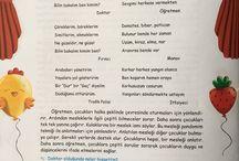 türkçe dil etkinliği