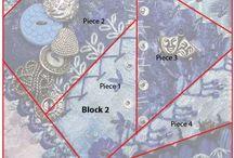 couture patchwork, crazy quilt, appliqué