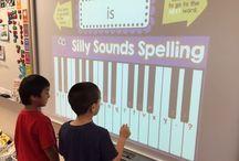 Spelling & grammar games / Language skills
