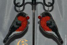 Beads birds & animals
