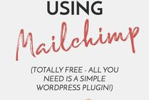 MailChimp Tips / Looking for the best way to maximise your email marketing, create an opt in that actually converts, or need MailChimp tutorials? If you need help with your MailChimp design, or even if you're looking for MailChimp templates, you're in the right place.