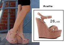Catia 26,99€ || Γυναικεία Πλατφόρμα Suede με Μπαρέτα Ροζ