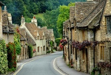 """Lovely British Villages / Places that soothe the soul. The """"St. Mary Mead"""" type of village. There may be undercurrents of strife, but Miss Marple always restores order in time for tea."""