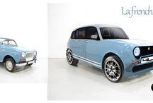 La 4L New génération / voici un concept car réalisé sur la base de notre bonne vieille 4L