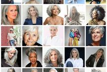 """""""Fashion For the 50 and Wiser"""" / Fashion, hair make-up, jewelry for the 50 and wiser woman"""