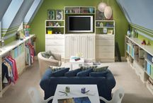 Remodel: Bonus Room/office / by Cluttered Mama