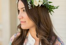 Flowers in Hair  / Flowers for hair styles. Weddings or special events. Even everyday