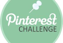 "Pinterest Challenge  / 6 ""Pinterest Inspired"" projects, 6 weeks to complete them, and 10 amazing bloggers who've accepted the challenge!"