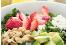 Salads & dressings / by Samantha R. Giler