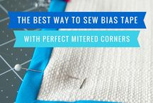 Bias binding corners