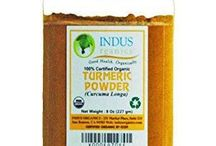 Organic Turmeric / Our farmers grow one of the best organic turmeric using sustainable farming techniques in bio dynamic environment in Kerala. These farmers are very small with typical family owned land of One Acre. No pesticide or chemical fertilizer is used by our farmers.