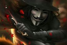 V for Vendetta / Remember, remember the Fifth of November.