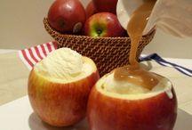 Manzanas horneadas
