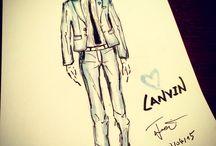 Lanvin / Sketch