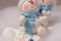 Christmas Polymer Clay / by Bonnie Kreger