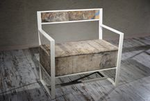 Eretica / #nightcreateddesign #interiordesign #handmade #artisanal #bench #design #furniture #handcrafted | Falsely denying one's own convinctions, the crate is saved from a fire ordered by one of the inquisitors of our times. Materials: grape crate, iron