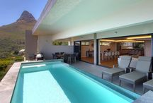 Casablanca / Casablanca is a superbly stylish, three bedroom semi-detached luxury vacation rental in Camps Bay. Spread across three levels, this holiday delight is spacious and secure with breath-taking views and practical central location.