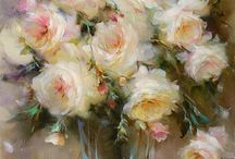 roses for painting