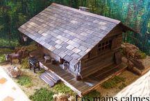 Cabane de trappeur... / Un réel coup de coeur pour cette cabane de trappeur, une petite merveille trouvée sur le blog les Mains Calmes que je vous conseille vivement...
