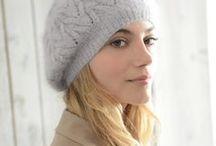 berets echarpes chapeaux angora