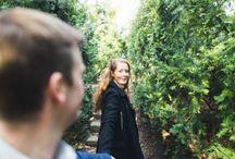Pre-shoots / Samling pre-shoots inför bröllopsfotografering; Botaniska Trädgården m.fl. platser.
