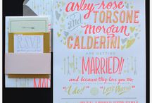 wedding / invites