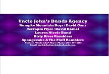 Uncle John's Bands Agency / National and Regional Acts that we represent!!  UNCLE JOHN'S BANDS AGENCY                                                                                                                   Email: unclejohn@unclejohnsbands.com  Like Us:  https://www.facebook.com/UncleJohnatthepourhouse?ref=ts  Become our Fan: http://www.reverbnation.com/label/unclejohnsbands4  Join our Group: https://www.facebook.com/groups/377900255670447/?ref=br_tf