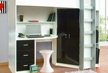 High Sleeper Beds / Beds with storage under! Wardrobes, drawers, desks, shelving.....