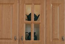 Kitchen and Bedroom Feature Doors