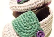 patrones botas crochet