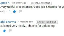 Do you know what is YouTube Linked Comment? Why can't you reply on all linked comments?