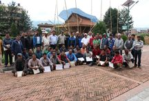 Masonry & Carpentry Training for Traditional Building Construction / Certificate Distribution Program of Masonry & Carpentry Training for Traditional Building Construction, organized by Khwopa Engineering College & Khwopa College of Engineering.