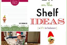 Holiday~ Elf on the Shelf Ideas / For Kids, Christmas, Funny, For Boys, For Girls, Xmas, Traditions, Creative, Introductions, Welcomes, Printables, Elf on the Shelf Ideas