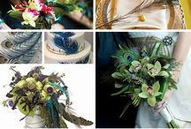 Colour palettes - peacock / by English Wedding Blog