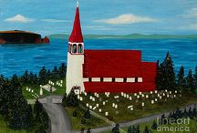 Church paintings and photos